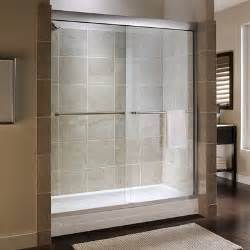 custom tuscany frameless bypass shower door wayfair
