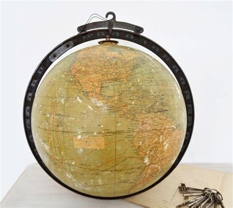 Interiors Home Decor Etsy Finds 1920s Hanging Globe Handmade Charlotte