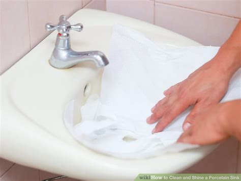 how do you clean a porcelain sink how to clean and shine a porcelain sink 10 steps with