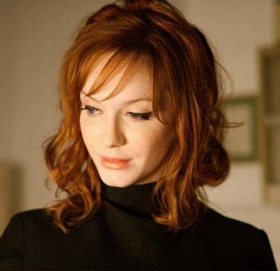 famous older actresses with red hair christina hendricks hollywood celebs who look best with