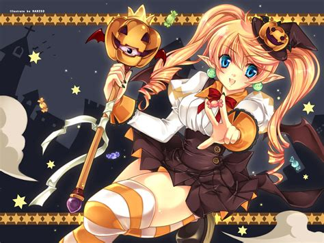 anime girl halloween wallpaper halloween anime all hallow s eve pinterest halloween