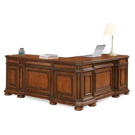 Riverside Desks riverside furniture cantata l shaped desk and return 4928