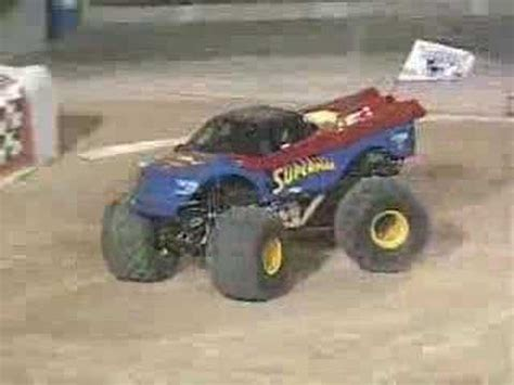 monster truck show in el paso tx monster jam superman truck el paso texas youtube