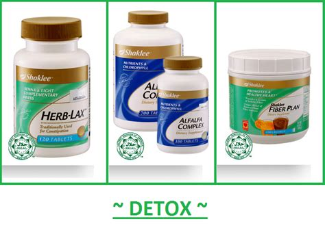 Ada Detox Diet by Tiera Kurus Dengan Shaklee