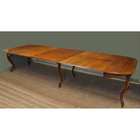 antique walnut dining table 12ft walnut antique dining table antiques