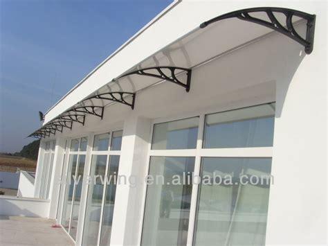 plastic awnings diy simple plastic door window canopies jpg