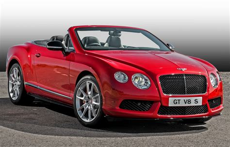100 Bentley Convertible Red 2018 Bentley