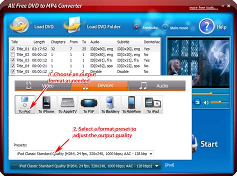 dvd format to mp4 converter free download feature rich dvd converter program to rip dvd of any kind