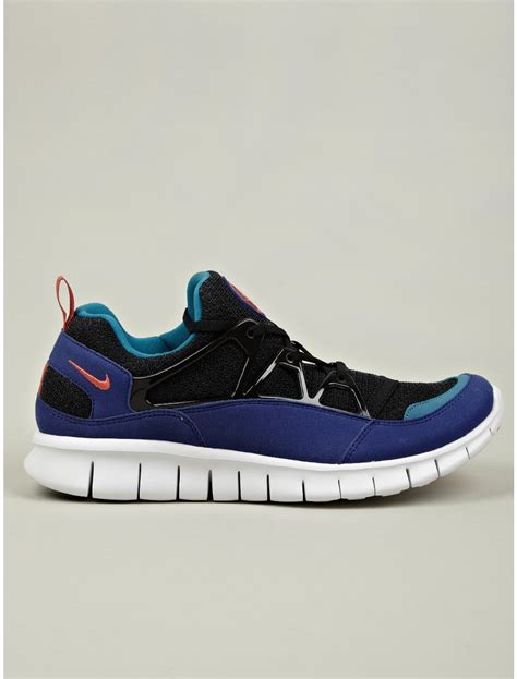 mens huarache sneakers nike mens free huarache light sneakers in blue for