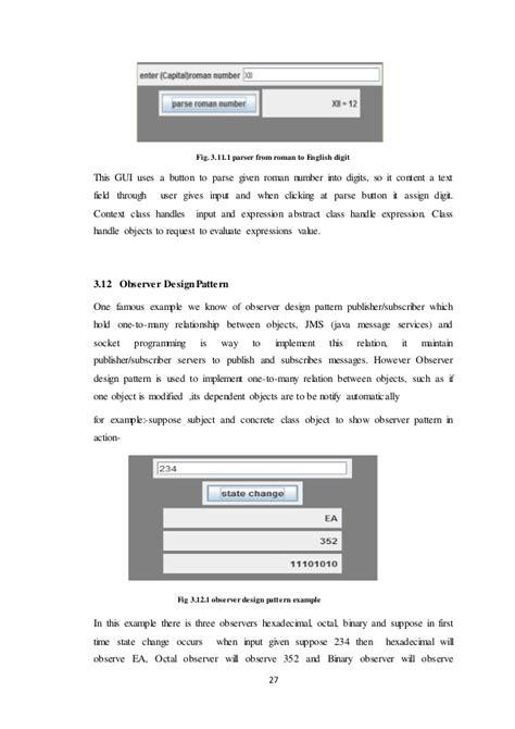 design pattern applications design pattern application