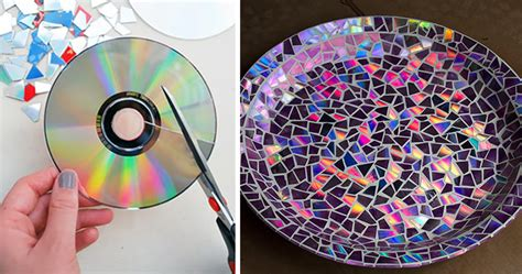 waste cd craft for 21 brilliant diy ideas how to recycle your cds