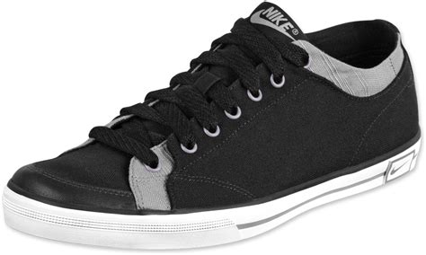 nike es canvas shoes black stealth white