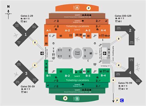 international airport map getting around mco orlando international aiport mco