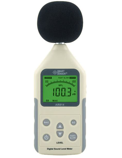 Digital Sound Noise Level Meter Tester 1 digital sound level meter ar814 measuring range 30 130db