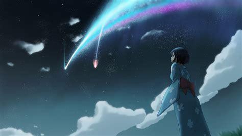 Kaos Kimi No Na Wa Your Name Sky Hobiku Anime Store your name kimi no na wa anime 137 wallpapers 3
