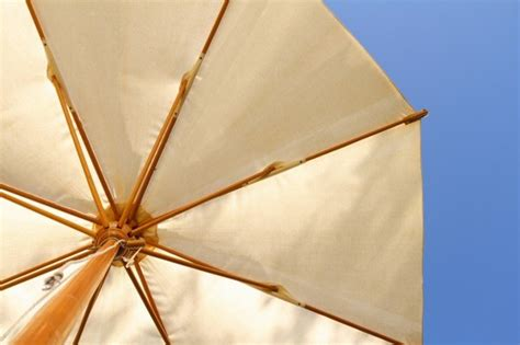Canvas Patio Umbrella Cleaning A Canvas Patio Umbrella Thriftyfun