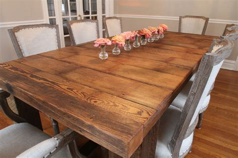 barnwood dining room tables barnwood table