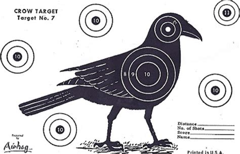 printable crow targets no ma am guide to birdwatching in the manosphere