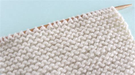 garter stitch in knitting knit stitch patterns for absolute beginning knitters