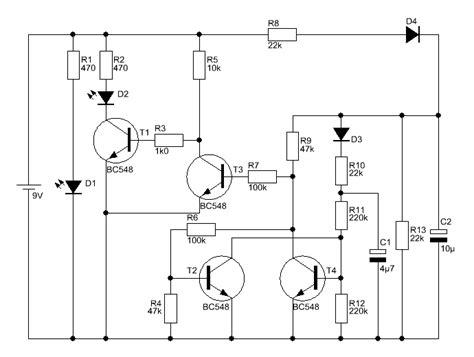 transistor bc548c bc546c bc550c eindrahtschalter