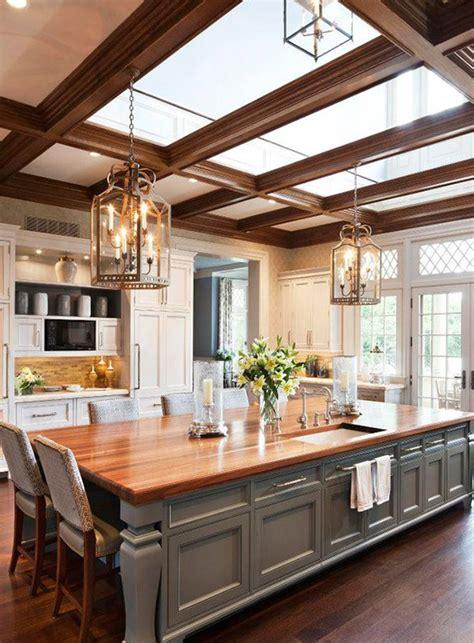 latest  stylish large kitchen design ideas