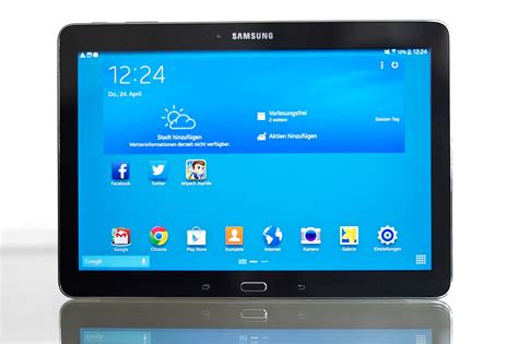 Tablet Samsung Pro samsung galaxy tab pro android tablet mit 10 1 display im test
