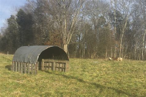 movable cattle panel shelter  fathers gift