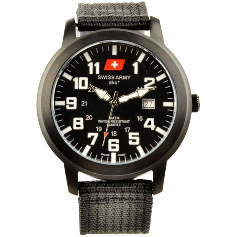 Jam Tangan Swiss Army Tgl Hari Black product shop jam tangan