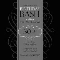 30th Birthday Invitation Template by 30th Birthday Invitations Templates Free Printable
