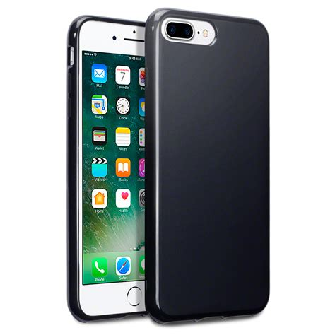 Iphone 7 Plus Softcase Silicon Thin Black Matte Iphone 7 Plus Terrapin Slim Soft Thin Rubber Cover For Apple Iphone