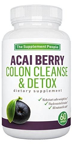 Acai Berry Detox Results by Qoo10 Acai Berry Colon Cleanse And Detox Herbal