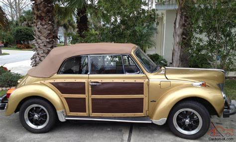 volkswagen beetle 1940 1974 volkswagen convertible 1940 ford look wood trim disc