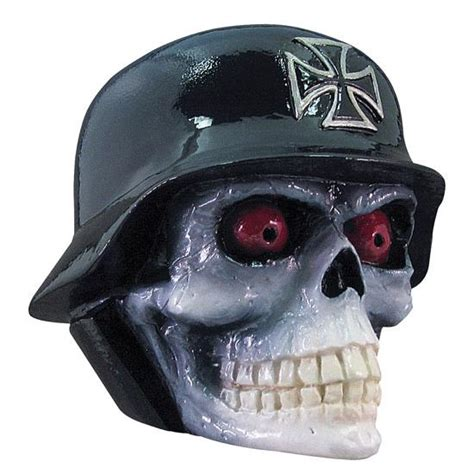 Shift Knob Skull by Cast Resin Shift Knob Helmet Skull Ebay