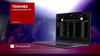 toshiba encore tv commercial moments worth repeating toshiba satellite radius tv commercial dj featuring