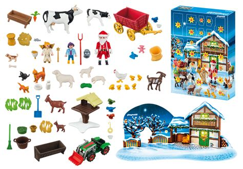 Calendrier De L Avent Playmobil Pere Noel Calendrier De L Avent Quot P 232 Re No 235 L 224 La Ferme Quot 6624