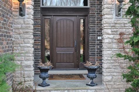 brown front door front door brown decorating