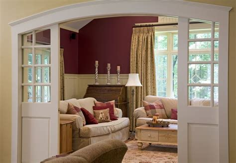 Living Room To Dining Room Doors Awesome Pocket Doors And Arched Doorway Idea For Between