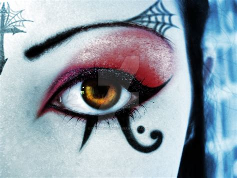 death rock makeup deathrock make up by darkasteria on deviantart