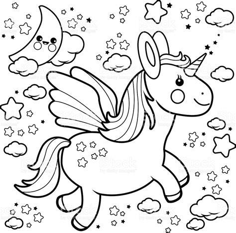 imagenes de unicornios volando lindo unicornio volando en el cielo nocturno libro para