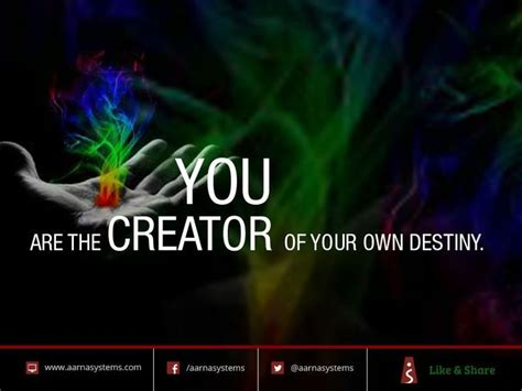 You Are The Creator Of Your Own Destiny Essay by You Are The Creator Of Your Own Destiny Website Design Services