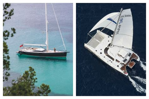 catamaran vs monohull speed the most comfortable sailboat 5 sailing catamarans to