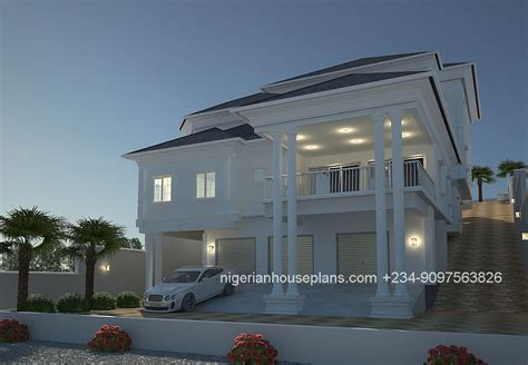 house designs floor plans nigeria 4 bedroom duplex ref 4011 nigerianhouseplans
