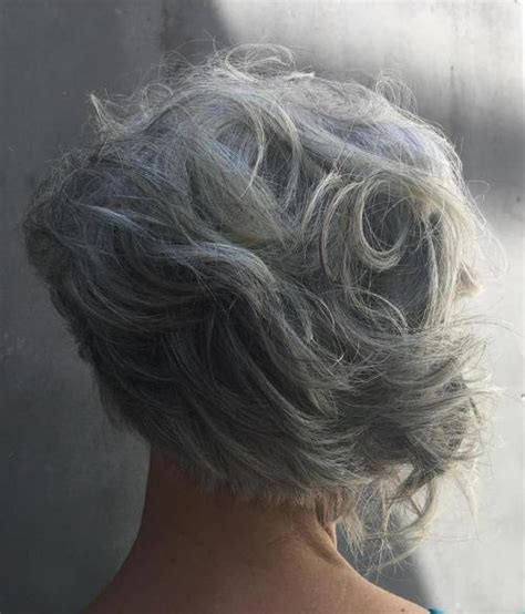 picture of gray wavy bob 60 gorgeous hairstyles for gray hair