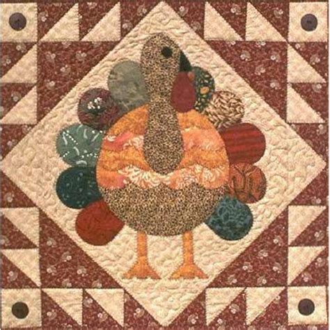pinterest pattern block turkey turkey feathers quilters warehouses