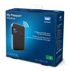 Wd My Passport 2tb Usb 30 wd my passport wireless usb 3 0 external drive 2tb black jakartanotebook
