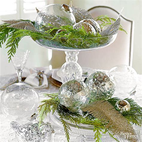 would like to make a small table centerpiece for christmas easy to make centerpieces better homes gardens