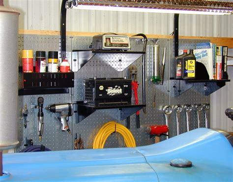 Tool Board Garage by Tool Board Pegboard Wall Industrial Metal