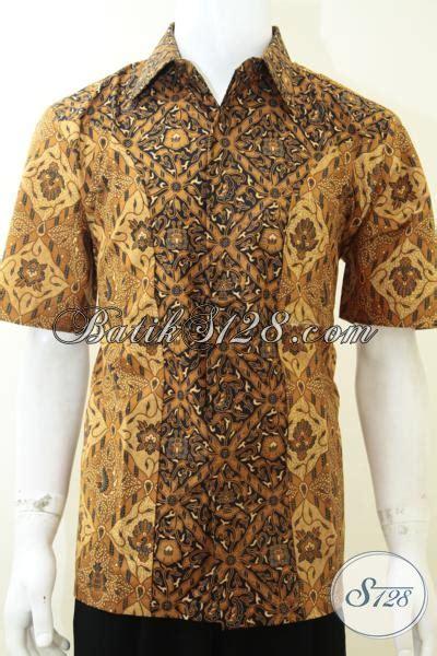 Jual Baju Pria jual baju kemeja pria batik murmer motif klasik kombinasi ld2187p l toko batik 2018