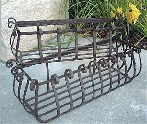 25 best ideas about wrought iron window boxes on
