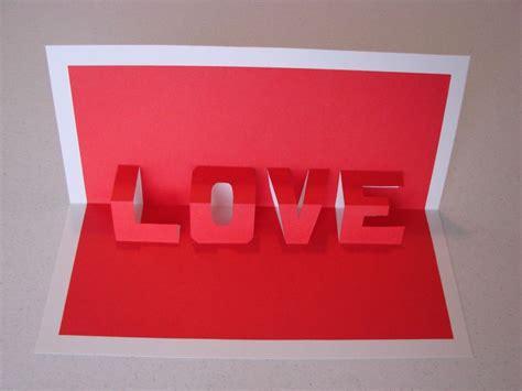 cara membuat kartu ucapan valentine day goblog its my bugi cara membuat kartu ucapan 3d